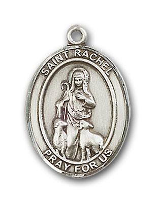 Sterling Silver St. Rachel Pendant