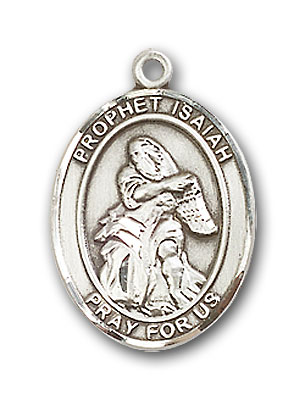 Sterling Silver St. Isaiah Pendant