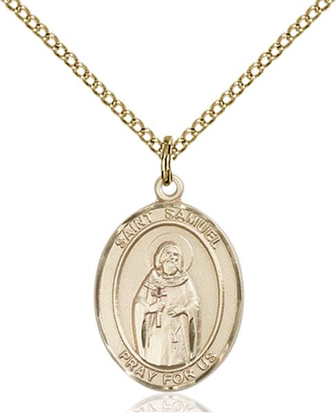 Gold-Filled St. Samuel Pendant