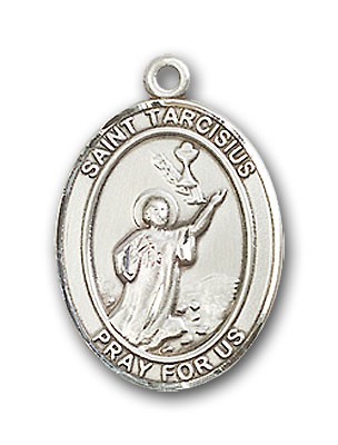 Sterling Silver St. Tarcisius Pendant
