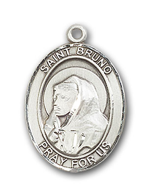 Sterling Silver St. Bruno Pendant