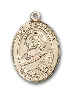 Gold-Filled St. Perpetua Pendant