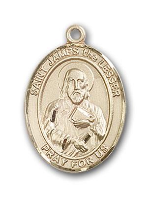 14K Gold St. James the Lesser Pendant