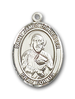 Sterling Silver St. James the Lesser Pendant