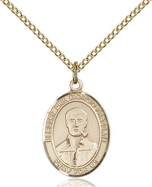 Gold-Filled Blessed Pier Giorgio Frassati Pendant