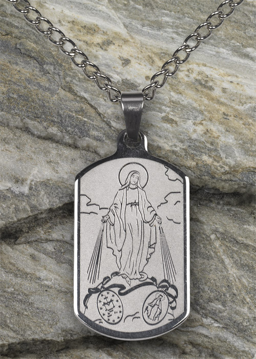 Miraculous Medal SS Necklace
