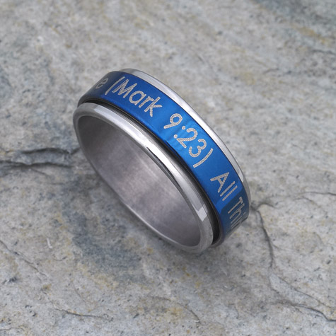 All Things are Possible Ring - Large