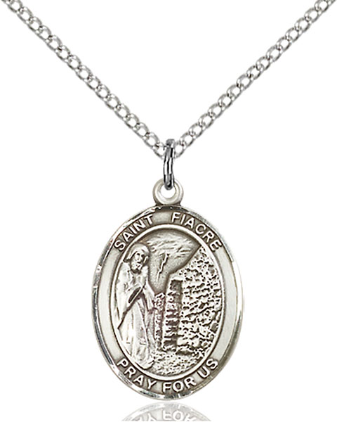 Sterling Silver St. Fiacre Pendant