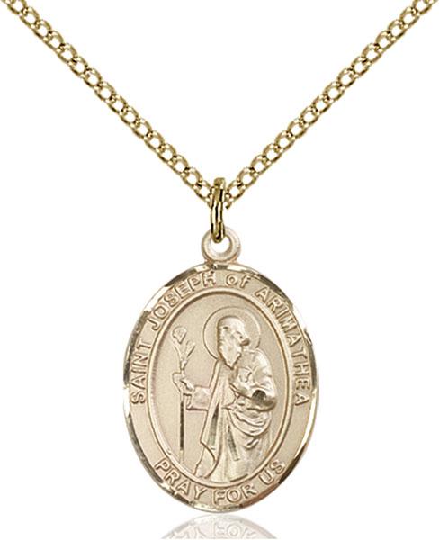 Gold-Filled St. Joseph of Arimathea Pendant