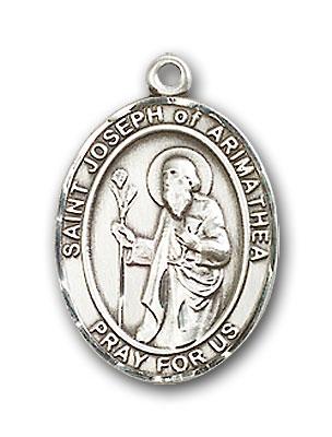 Sterling Silver St. Joseph of Arimathea Pendant