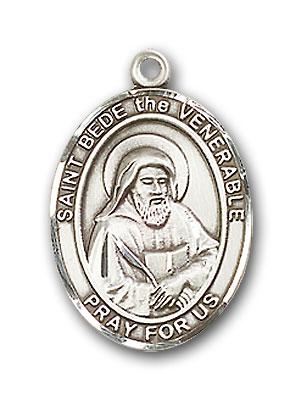 Sterling Silver St. Bede the Venerable Pendant