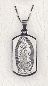 Guadalupe Dog Tag