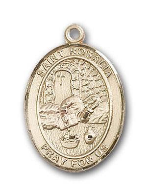 14K Gold St. Rosalia Pendant