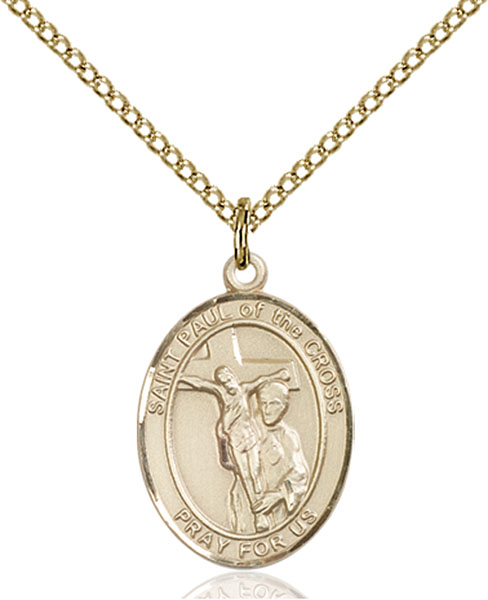 Gold-Filled St. Paul of the Cross Pendant
