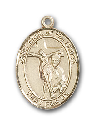 14K Gold St. Paul of the Cross Pendant