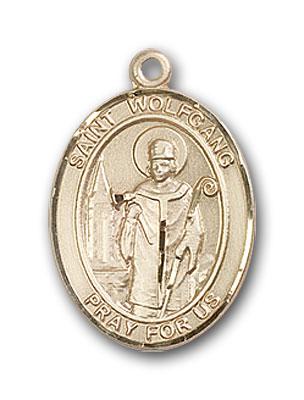 14K Gold St. Wolfgang Pendant
