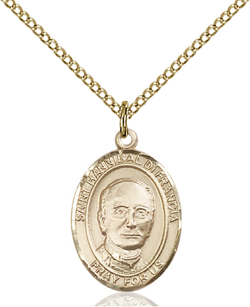 Gold-Filled St. Hannibal Pendant