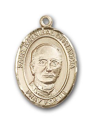 14K Gold St. Hannibal Pendant