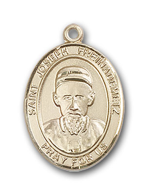 14K Gold St. Joseph Freinademetz Pendant