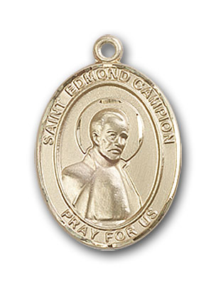 Gold-Filled St. Edmund Campion Pendant