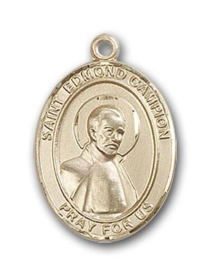 14K Gold St. Edmund Campion Pendant