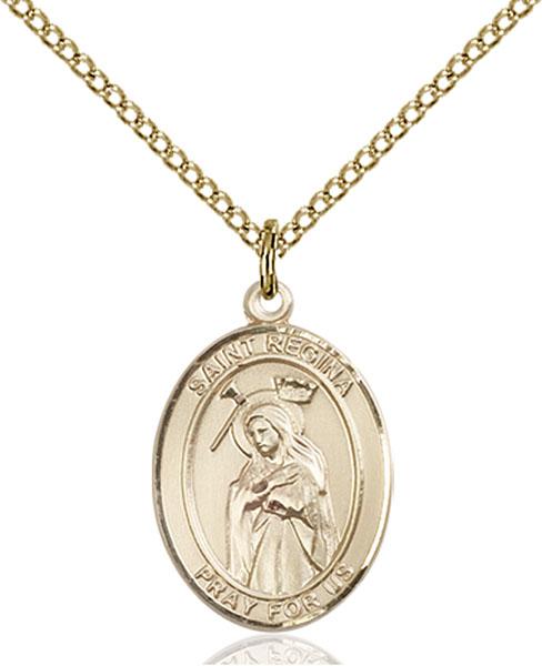 Gold-Filled St. Regina Pendant