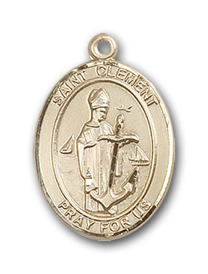 Gold-Filled St. Clement Pendant