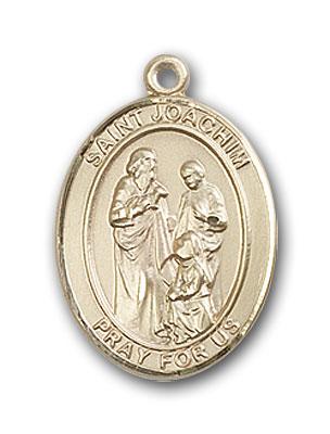 14K Gold St. Joachim Pendant