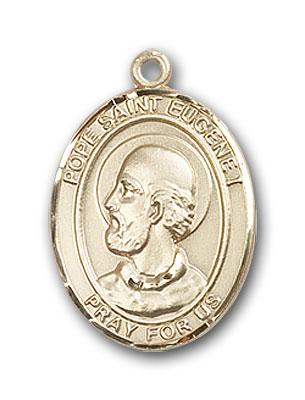 14K Gold Pope Saint Eugene I Pendant