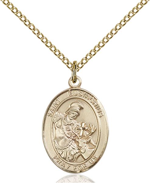 Gold-Filled St. Eustachius Pendant