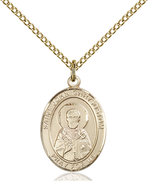Gold-Filled St. John Chrysostom Pendant