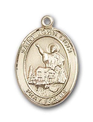 14K Gold St. John Licci Pendant
