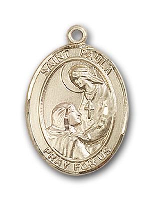 14K Gold St. Paula Pendant