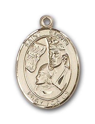 Gold-Filled St. Edwin Pendant