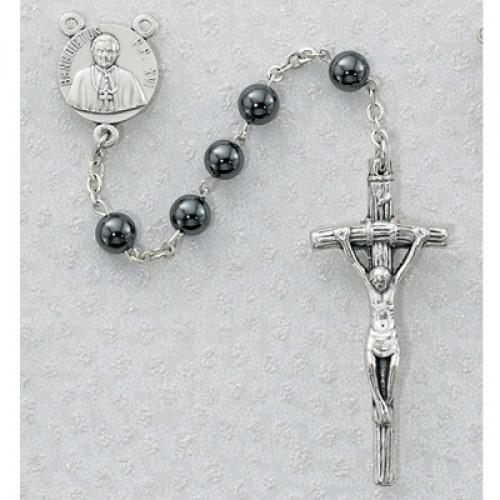 6MM Genuine Hematite Rosary