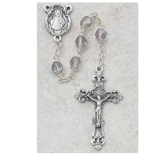 6MM AB Amethyst/June Rosary