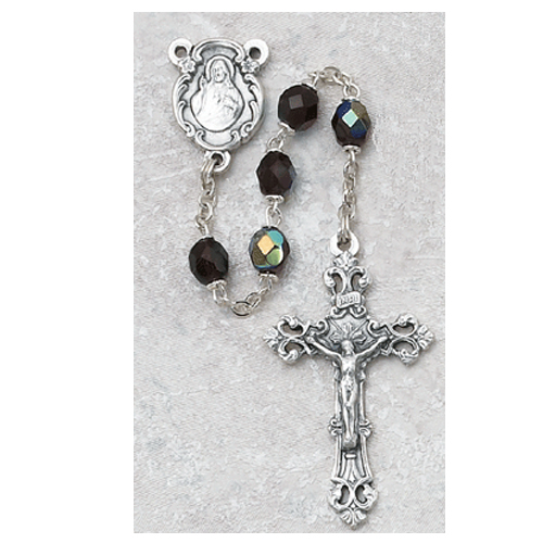 6MM AB Garnet/January Rosary