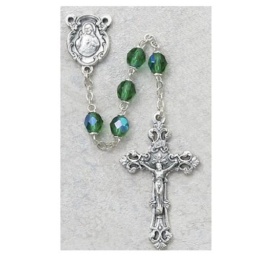 6MM AB Peridot/August Rosary