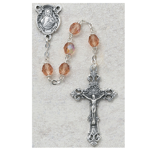 6MM Rose/October Rosary