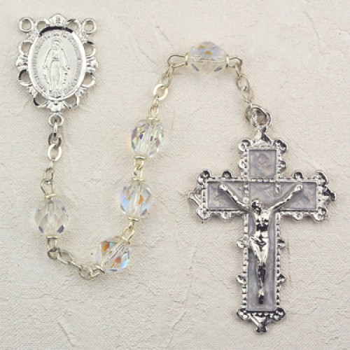 6MM Crystal Rosary