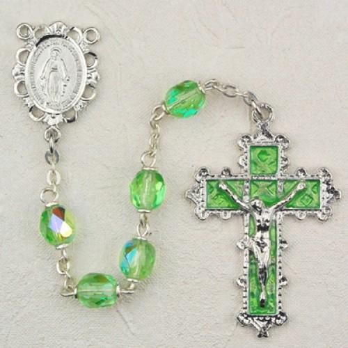 6MM Peridot Rosary