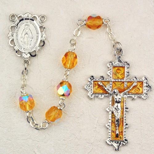 6MM Topaz Rosary