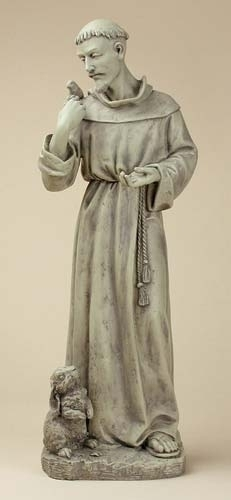 24-inch St. Francis With Bunny Garden