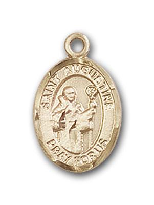 14K Gold St. Augustine Pendant
