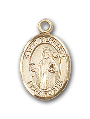 Gold-Filled St. Benedict Pendant