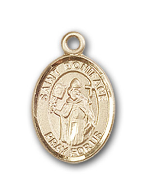 Gold-Filled St. Boniface Pendant