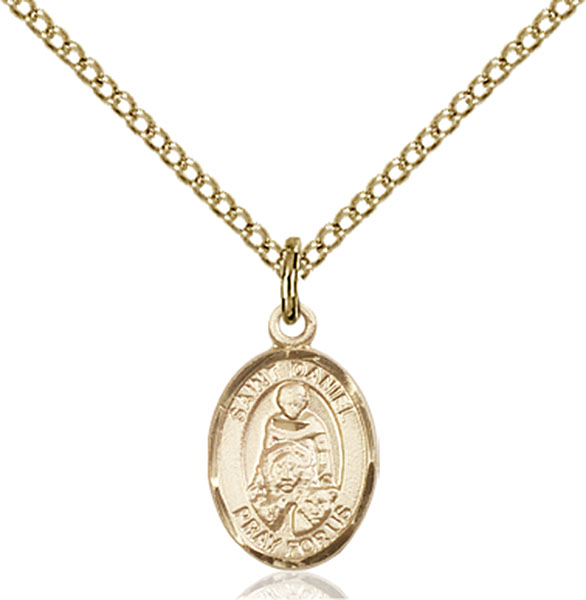 Gold-Filled St. Daniel Pendant