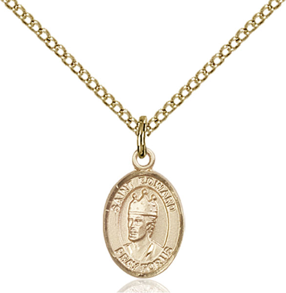 Gold-Filled St. Edward the Confessor Pendant
