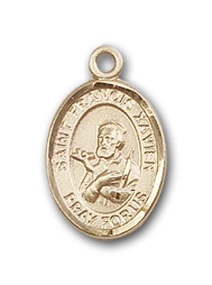 Gold-Filled St. Francis Xavier Pendant