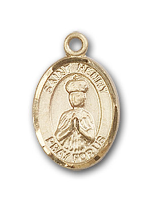 Gold-Filled St. Henry II Pendant